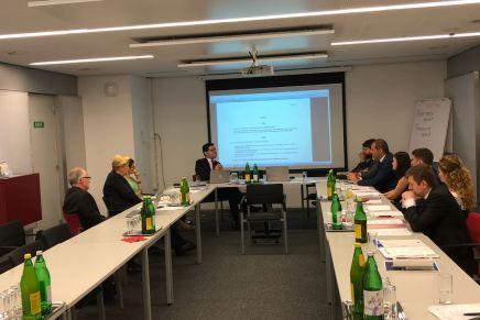 Vizita de studiu a delegatiei CNIPMMR in Viena