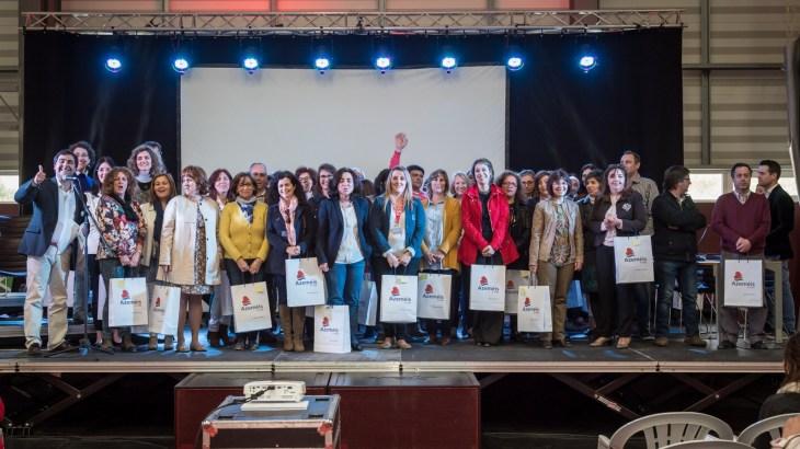 Representantes das escolas participantes