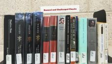 Collection of classics at main campus library that is often banned or challenged.