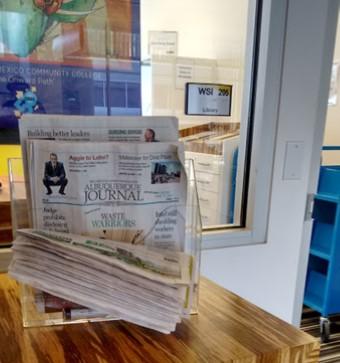 crop newspaper