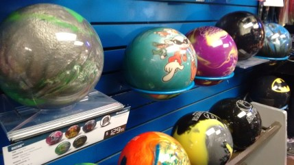 The use of a bowling ball and shoe rental are covered by the cost of the class, however you can buy your own ball there from Silva's Pro shop and the cost is about a hundred dollars for a ball, bag and shoes said Romero. (Hay/CNM CHronicle)