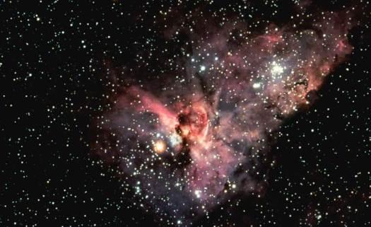 Resultado de imagen para Telescopio sudafricano toma la imagen más clara del centro de la Vía Láctea
