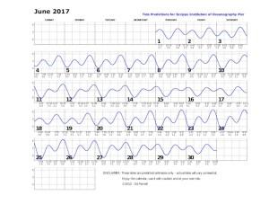 June 2017 tide chart