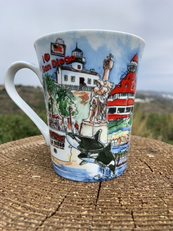 I Love San Diego Mug