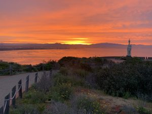Sunrise view at Cabrillo National Monument