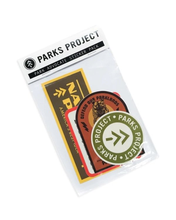 Package of Assorted Park Project Stickers