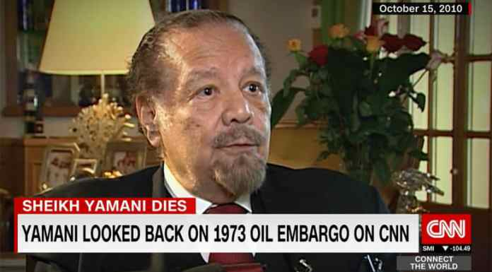 After his death, here is what Saudi Ahmed Al-Yamani, responsible for the 1973 oil price shock, said to CNN in 2010