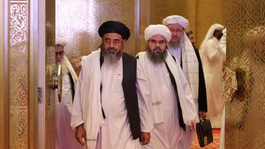 قادة حركة طالبان في محادثات قطر