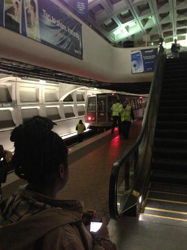 Metro Subway Suicide In Washington DC
