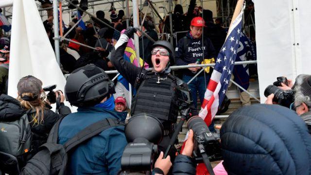 01-06-2021 Donald Trump MAGA Capitol Riots Seize U.S. Capitol Building