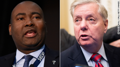 Graham's campaign clears the skin of his opponent Harrison on notice