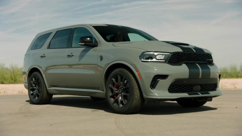 Chrysler Launches New Dodge Durango SRT Hellcat Truck