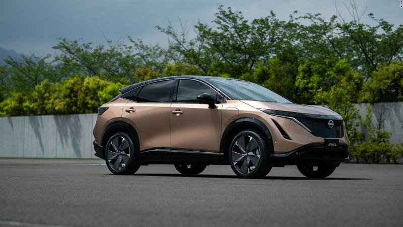Nissan presents its first electric model: Ariya