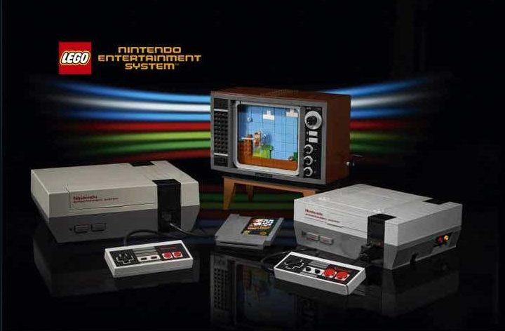 Nintendo asks Lego to rebuild its original console