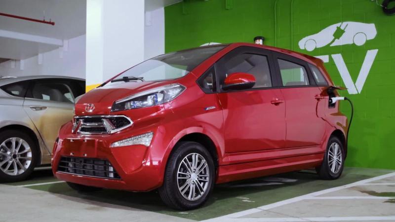 Kandi presents the electric car