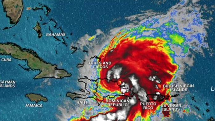 Storm Isaías would have been in Florida over the weekend