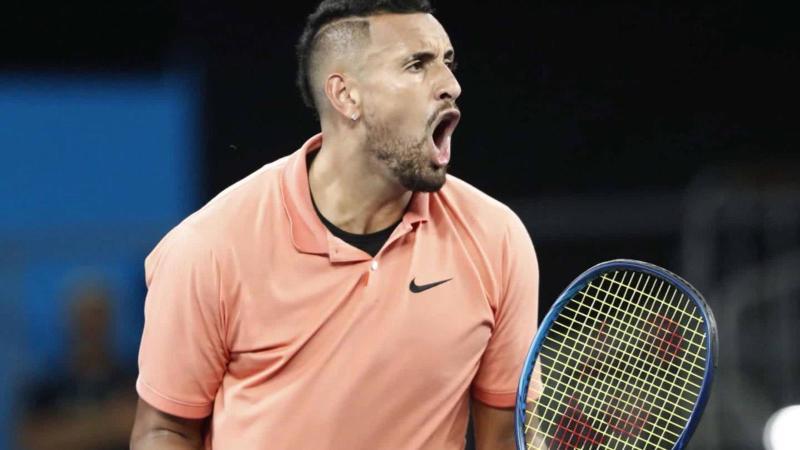 Covid-19: Kyrgios sort de l'US Open