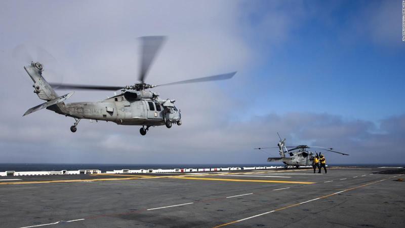 Des corps militaires retrouvés en Californie