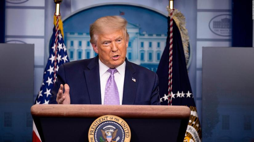 Trump calls Biden's pandemic plan a setback