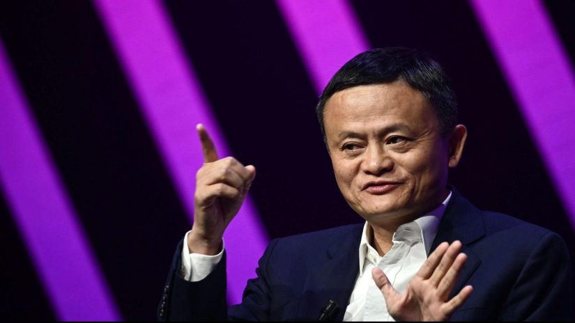 Jack Ma presents what would be the largest public offering