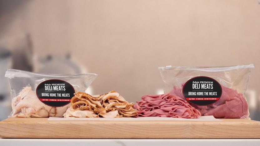 Arby's vende pavo asado, jamón y carne en paquetes