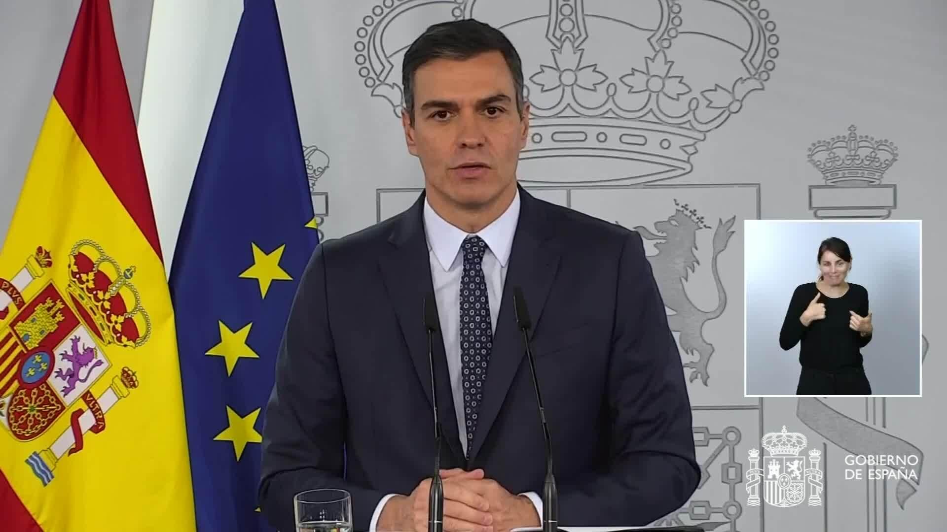 Gobierno español propone un estado de alarma de seis meses
