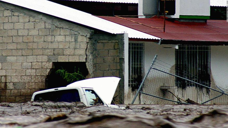 The worst hurricanes in the history of Central America