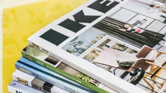 Adiós already catálogo of Ikea después from 70 years