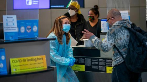 Requisitos para viajar fuera de EE.UU.  este fin de año and pandemic