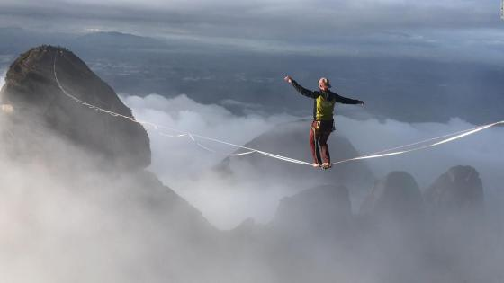 This is how you can balance in extreme places