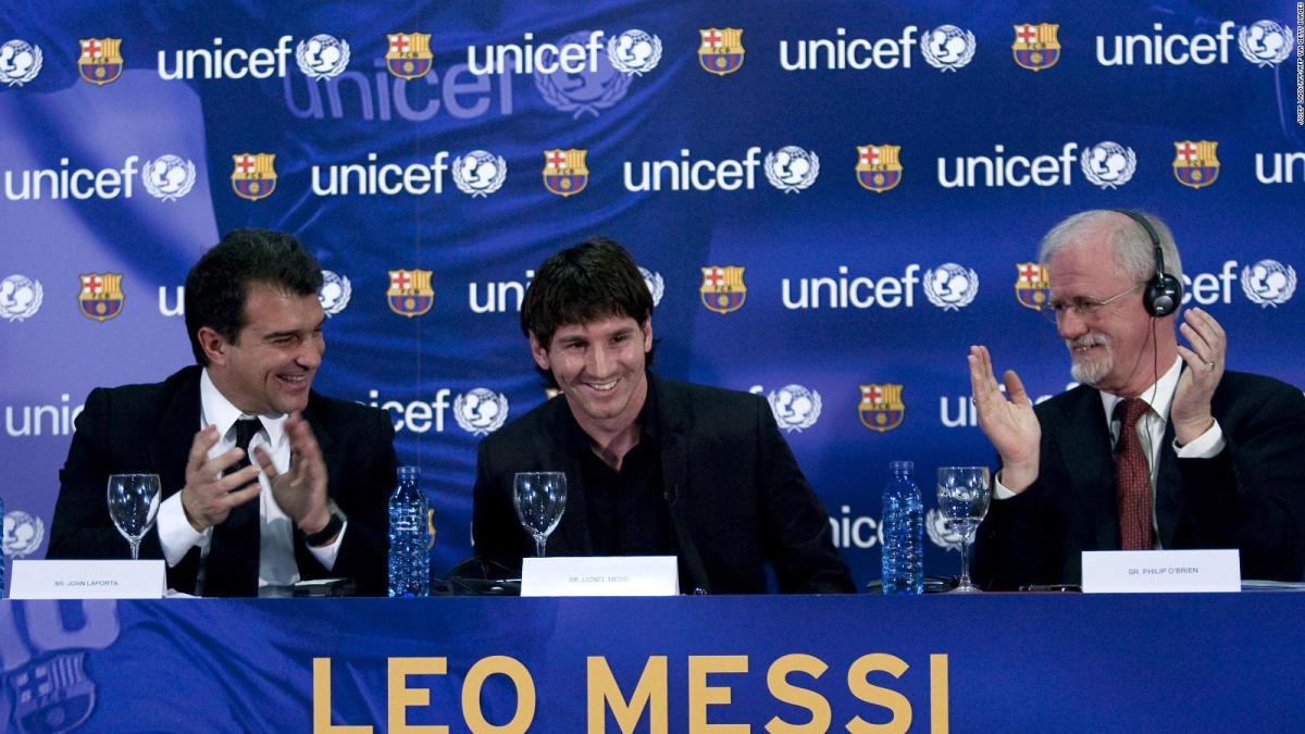 Joan Laporta: Lionel Messi quiere al FC Barcelona | Video | CNN