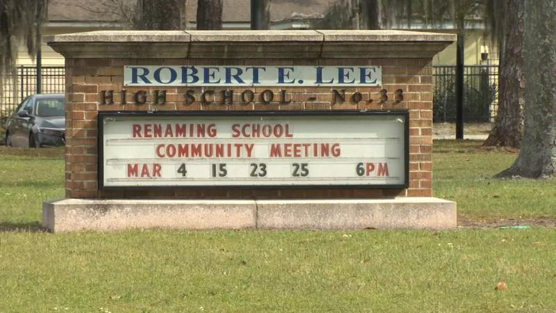 Racist comments in hearing by school name