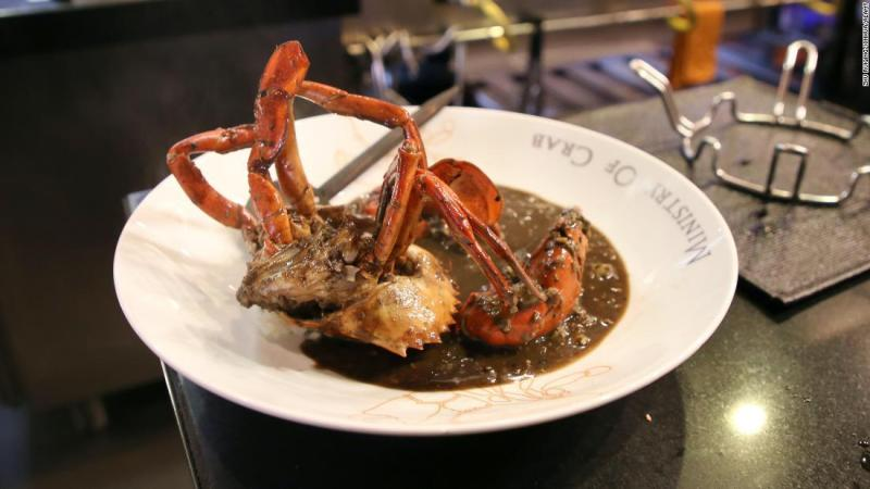 Cangrejo turismo restaurante