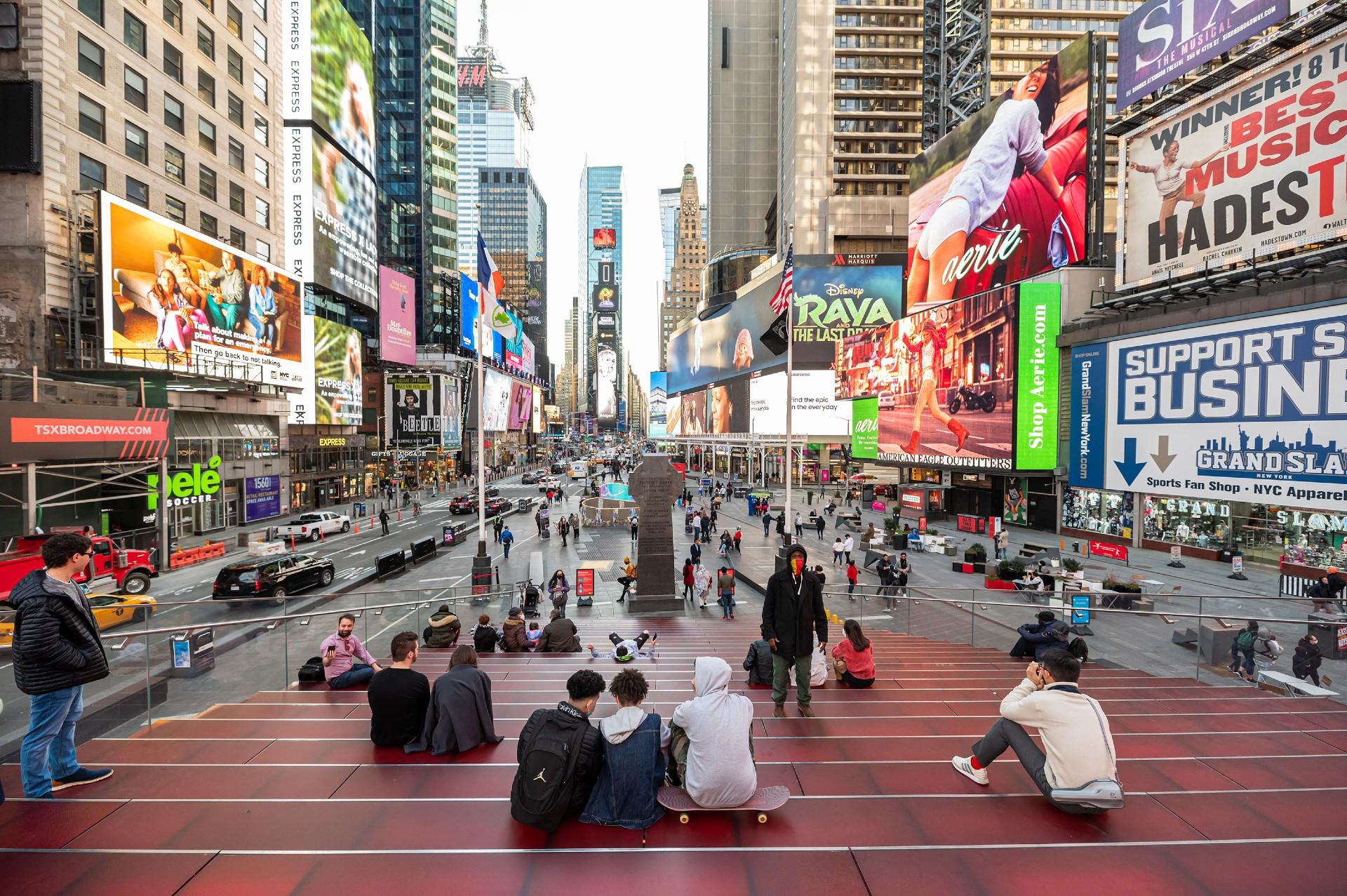 La ciudad de Nueva York quiere ofrecer la vacuna de una dosis contra el covid-19 de Johnson & Johnson a los turistas