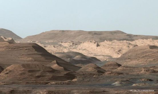 Based on the discovery of the Curiosity rover, Mars did not lose all its water at once