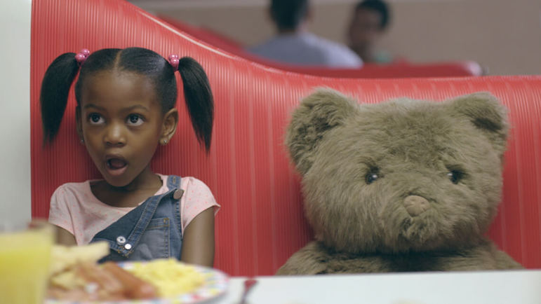 'Mr Cuddles' Wimpy ad, directed by Dani Hynes