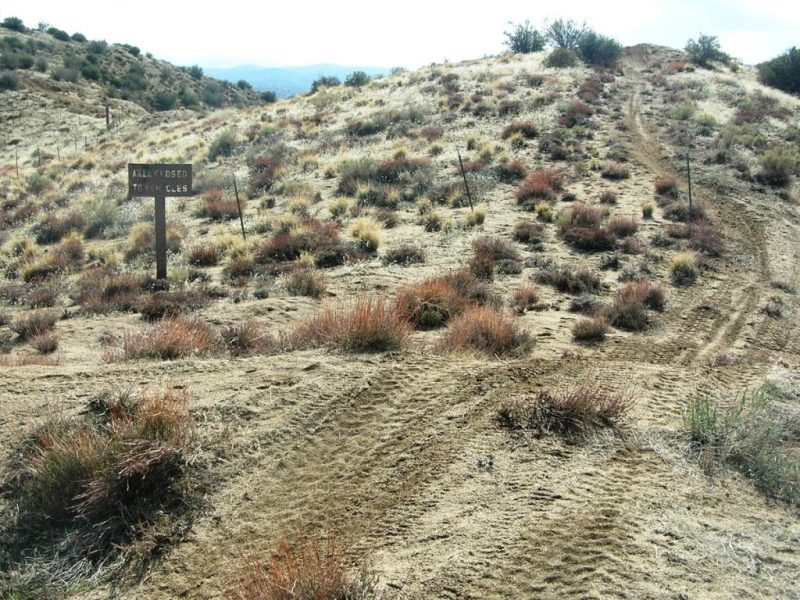 Illegal hillclimb tracks