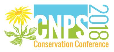 CNPS Conservation Conference 2018 logo