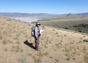 CNPS Veg Staff survey Thurber's needlegrass
