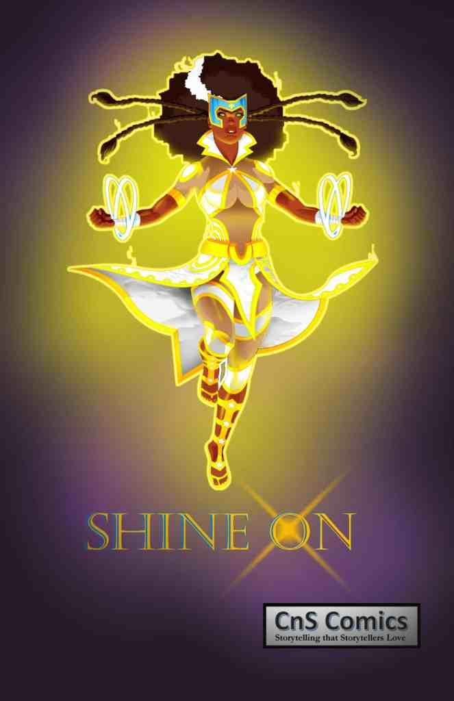 Shine On Poster Design