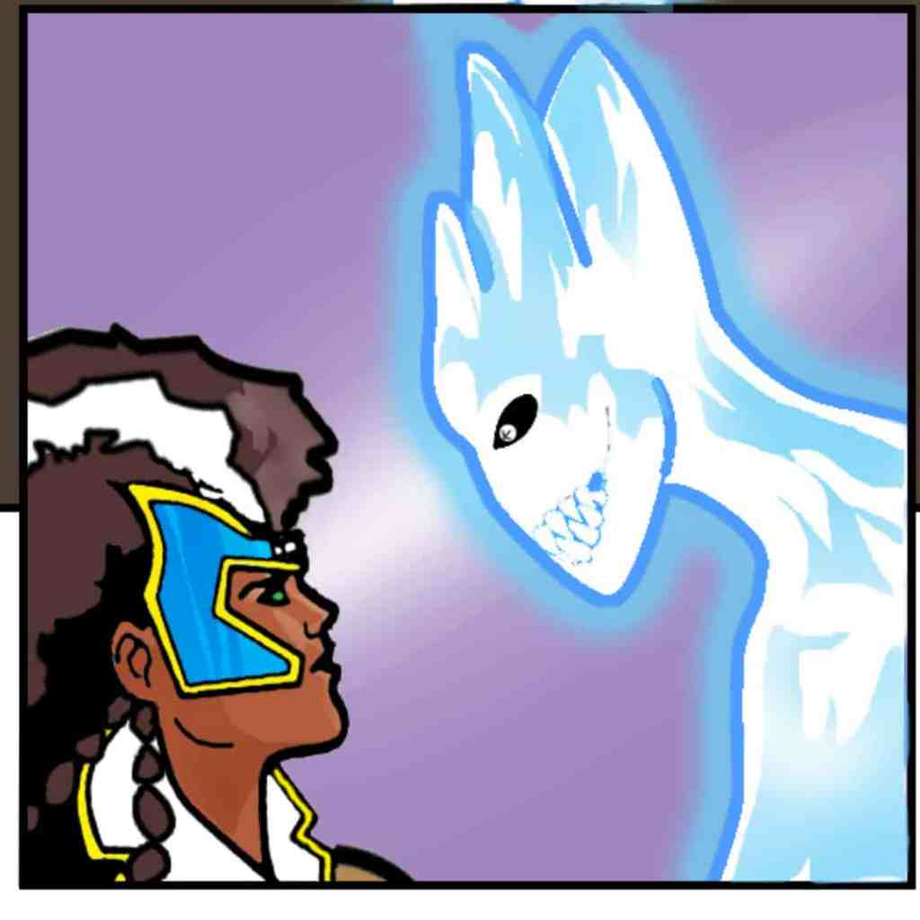 Helkn the cold and Tol'Asha of the Stars. Image taken from TOS Issue #2.