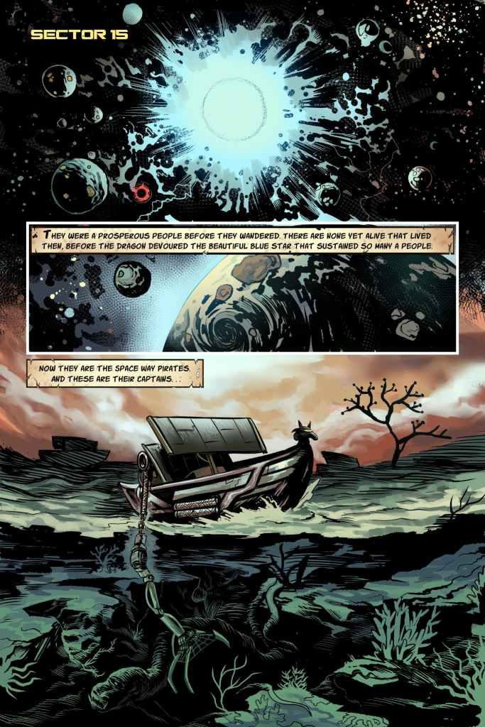 The Captains Issue #1 PG 1