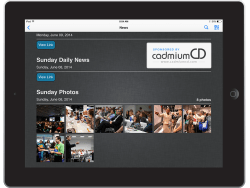 Ask your developer about adding the show daily to your mobile app.