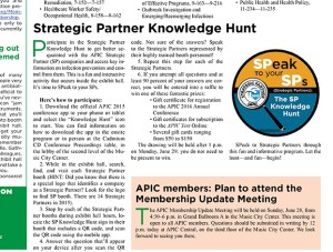 Strategic Partner Knowledge Hunt