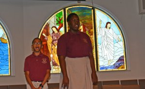 """Lighthouse School sings """"We Are The World"""""""