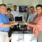 Edna Moyle Primary receives new laptops