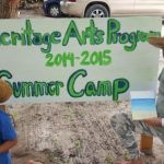 Youngsters enjoy a day of Caymanian culture