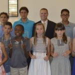 Awards event splashes out for swimmers