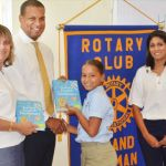 Rotary Sunrise promotes literacy with book donation