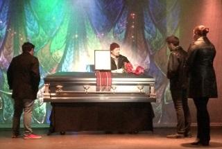 Rent coffin